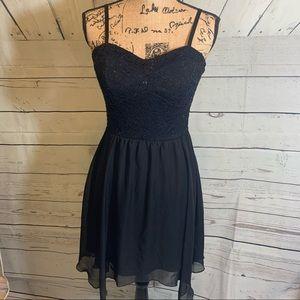 Lily Rose Spaghetti Strap Dress Size L